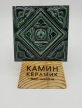 Плитка изразцовая с росписью