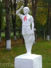 """Скульптура из бетона """"Пионер-1"""""""