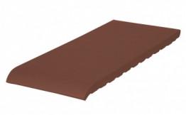 Клинкерный подоконник KING KLINKER коричневый  280*120*15 мм