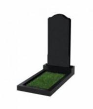 Памятник экономный вертикальный 1000*450*50 (Китай, черный)