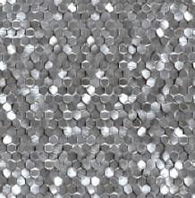 Плитка Мозаика Aluminium 3D Hexagon Metal (30,4x31x0,3)