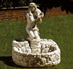 Садовый фонтан Parete Pescaia