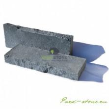 Бордюр из камня серо-синего оттенка