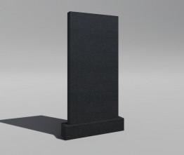 Памятник (комплект) из гранита габбро-диабаза. Мод.1