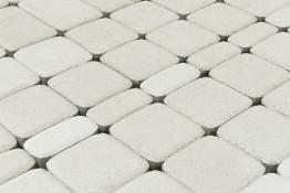 Тротуарная плитка Braer Классико Белый