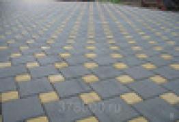 Брусчатка - Кирпич одинарный силикатный желтый