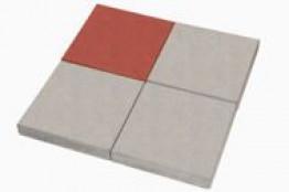 Тротуарная плитка 400 400 50 (гладкий квадрат серый)