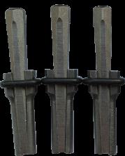 Набор камнекольных клиньев D14 L100