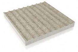 Тактильная плитка с продольными рифами