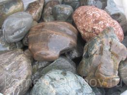 Камень природный (валунчик ассорти)