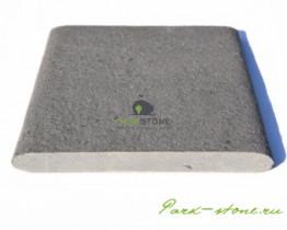 Бордюрный камень для бассейна серо-синий из песчаника