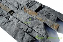 Полоска лапша из камня песчаник синяя 3,5 см
