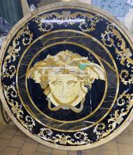 Панно из мрамора Версаче
