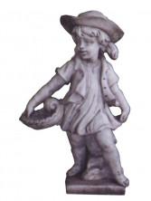 Скульптура «Девочка в шляпе»