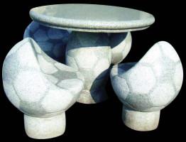 Садовая мебель «Футбол»: стол и 4 кресла
