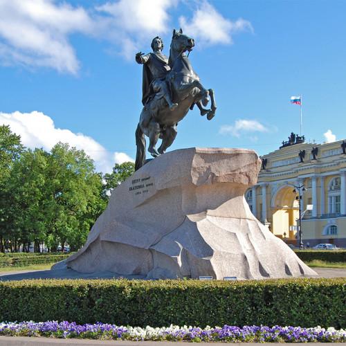 """Памятник Петру I """"Медный всадник"""" ушёл на реконструкцию"""