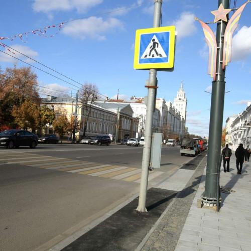 В центре Воронежа построили велодорожку, которую назвали стыдом для города